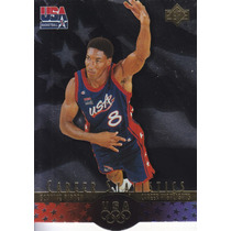 1996 Sp Usa Career Statistics Scottie Pippen Bulls