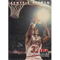 1992 Skybox Usa Nba Rookie Scottie Pippen Bulls