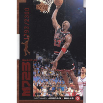 1998-99 Upper Deck Mj23 Bronze Dc Michael Jordan /2300 Bulls