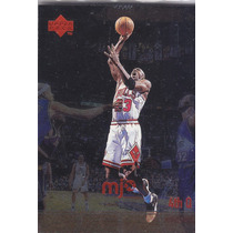 1998 Upper Deck Mjx 4th Q Foil Michael Jordan Bulls