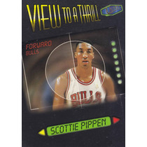 1997-98 Fleer Ultra View To A Thrill Scottie Pippen Bulls