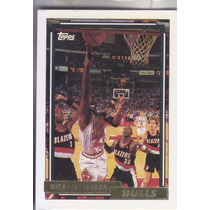1992-93 Topps Gold Michael Jordan Chicago Bulls