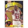 1995-96 Topps Active Leader Steals Michael Jordan Bulls