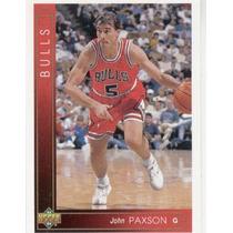 1993 - 94 Upper Deck John Paxson Chicago Bulls