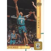 2001-02 Upper Deck Udx David Wesley Hornets /100