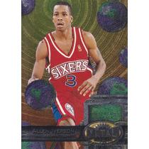 1997-98 Metal Universe Reebok Chase Bronze Allen Iverson