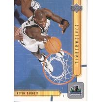 2001-02 Upper Deck Kevin Garnett Twolves