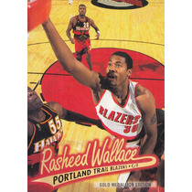 1996-97 Fleer Ultra Gold Medallion Rasheed Wallace Tblazers