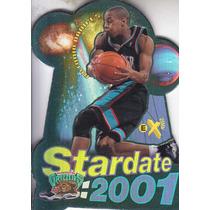 1997-98 E-x2001 Star Date Antonio Daniels Grizzlies