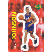 1997 Ud Choice Italian Sticker Kevin Johnson Suns #84