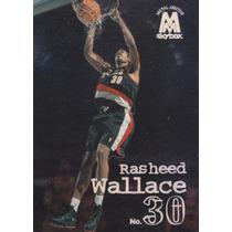1998-99 Skybox Molten Metal Rasheed Wallace Blazers