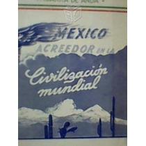 Autógrafo De F, Ibarra De Anda 1947