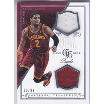2013-14 National Treasures Dual Jersey Kyrie Irving Cavs /99