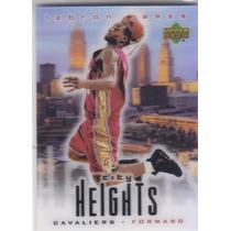 2003-04 Upper Deck 3d Rookie City Heights Lebron James Cavs