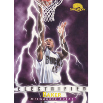 1995-96 Skybox Premium Electrified Vin Baker Bucks
