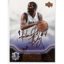 2004 05 Ud Diamond Prosigs Gold Signature Michael Finley