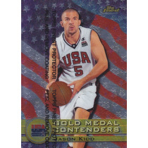 1999-00 Finest Usa Gold Medal Contender Jason Kidd