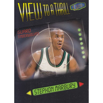 1997-98 Fleer Ultra View To A Thrill Stephon Marbury Twolves