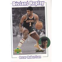 1999-00 Upper Deck Retro Distant Replay Oscar Robertson Buck