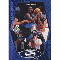 1998-99 Ud Choice Starquest Blue Shawn Kemp Cavaliers