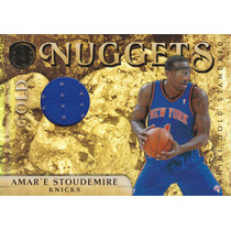2010-11 Gs Gold Nuggets Jersey Amare Stoudemire /199 Knicks
