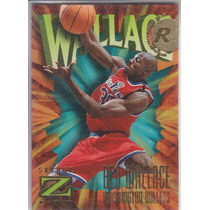 1996-97 Skybox Z-force Rookie Ben Wallace Bullets