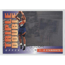 1993-94 Upper Deck Triple Double #td1 - Charles Barkley