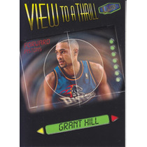1997-98 Fleer Ultra View To A Thrill Grant Hill Pistons