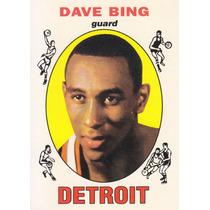 1996-97 Topps Reprint Dave Bing Pistons