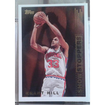 1995-96 Topps Show Stoppers #ss2 Grant Hill Pistons