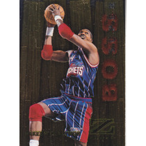 1997-98 Skybox Zforce Super Boss Hakeem Olajuwon Rockets