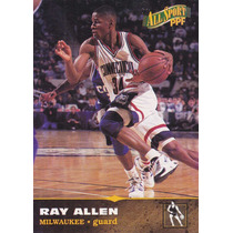 1996 Score Board All Sport Ppf Rookie Ray Allen Bucks