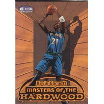 1999-00 Fleer Tradition Masters Of Hardwood Kevin Garnett