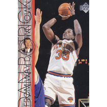 1996-97 Upper Deck Downtown Patrick Ewing Knicks