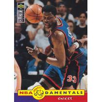 1996-97 Choice Nba Fundamentals Patrick Ewing Knicks