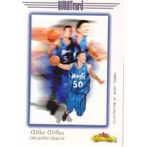 2000-01 Fleer Showcase Avant Mike Miller Magic /201