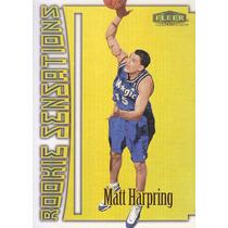 1999-00 Fleer Tradition Rookie Sensations Matt Harpring Orl