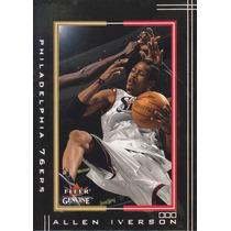 2001-02 Fleer Genuine Allen Iverson Sixers