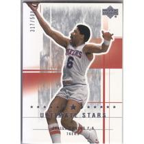 2003-04 Ud Ultimate Stars Julius Erving Sixers /500