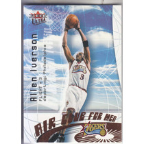 2000-01 Fleer Ultra Air Club For Men Allen Iverson Sixers