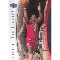 2001-02 Upper Deck Legends Moses Malone Sixers