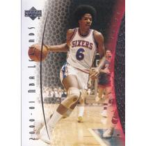 2001-02 Upper Deck Legends Julius Erving Sixers