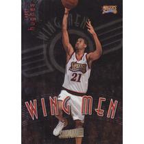1998-99 Stadium Club Wing Men Larry Hughes Sixers