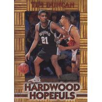 1997-98 Stadium Club Hardwood Hopefuls Tim Duncan Spurs