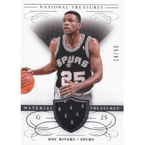 2013-14 National Treasures Jersey Doc Rivers Spurs /99