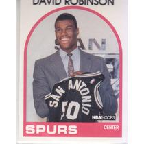 1989-90 Hoops Rookie David Robinson Spurs