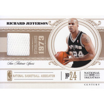 2010-11 Nt Century Jersey Richard Jefferson 48/99 Spurs