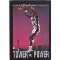 1993-94 Skybox Premium Tower Of Power David Robinson Spurs