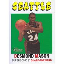 2000-01 Topps Her Rookie Desmond Mason Sonics /1972