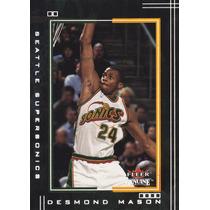 2001-02 Fleer Genuine Desmond Mason Sonics